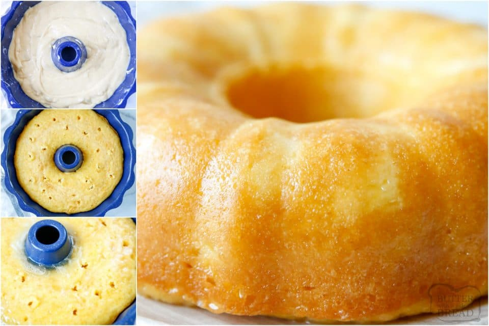 how to make an Easy Pineapple Bundt Cake recipe