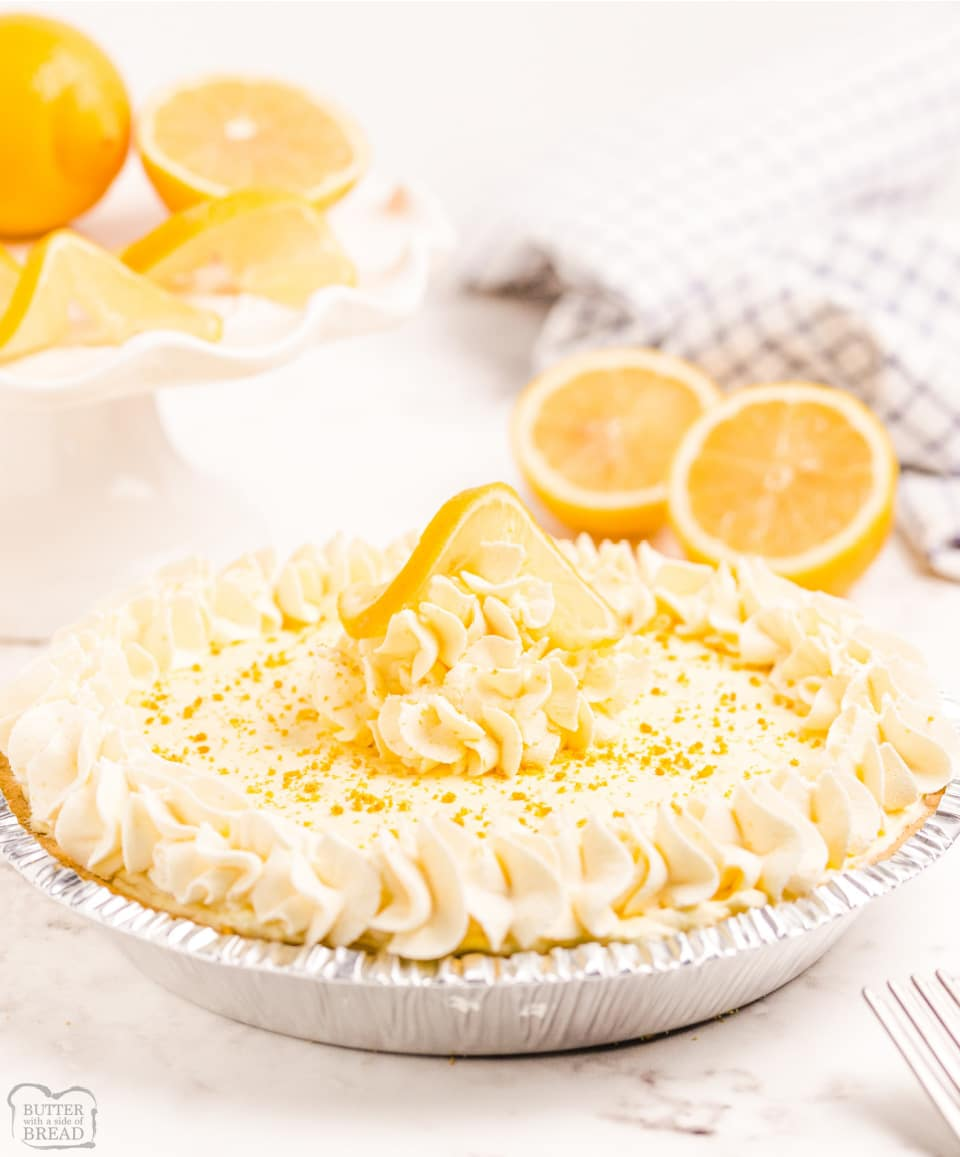 Easy Lemon Chiffon Pie recipe