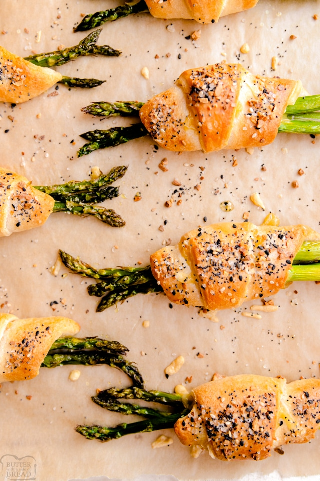 How to make Cheesy Asparagus Crescent Rolls