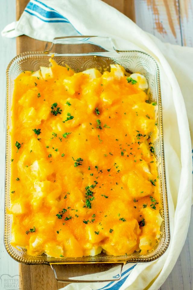 Homemade Cheesy Potatoes recipe