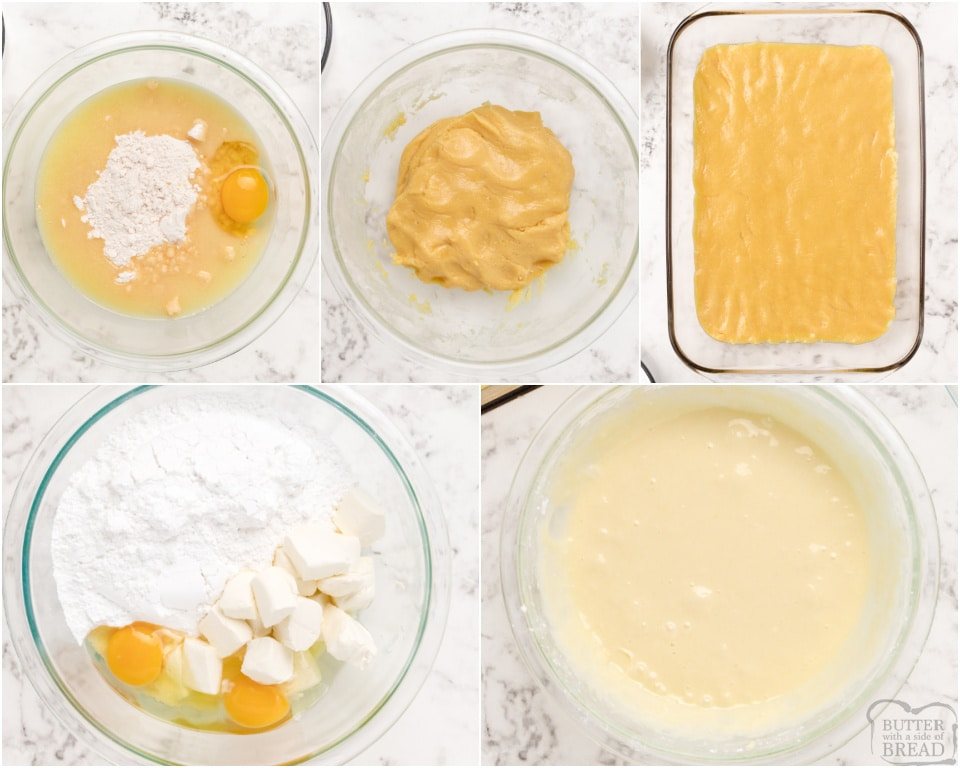 How to make a butter cake recipe
