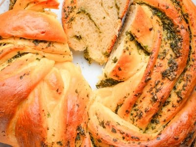 How to make Homemade Italian Herbs and Cheese Bread