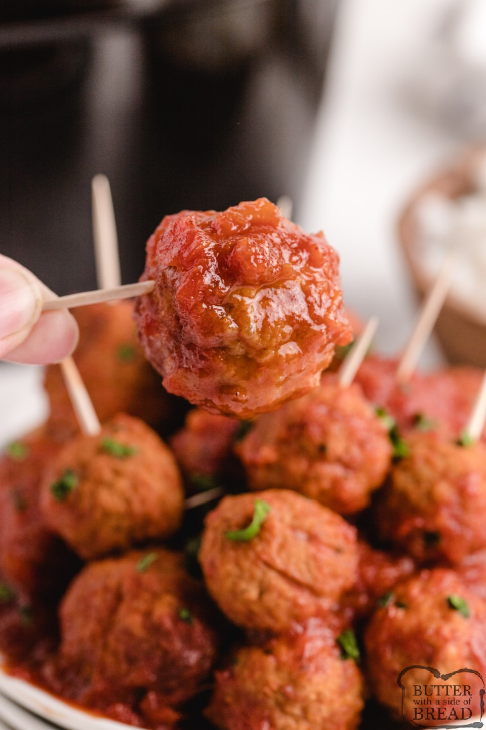 Crockpot Sweet and Sour Meatballsmade with frozen meatballs and a simple homemade sweet and sour sauce. Sweet and Sour Meatballs are perfect for an appetizer or for a main dish!