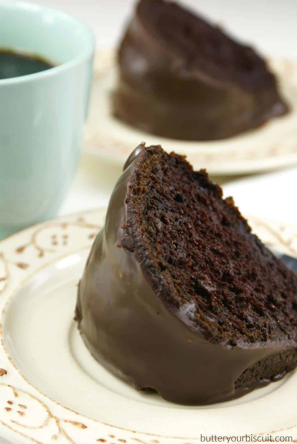 Best Boxed Bundt Cake With Ganache Glaze Butter Your Biscuit