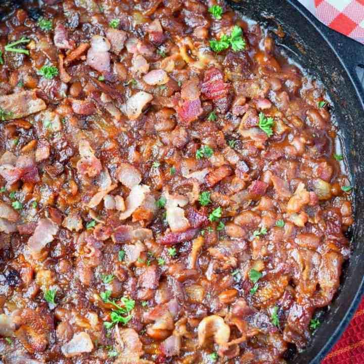 Sweet N Spicy Baked Beans