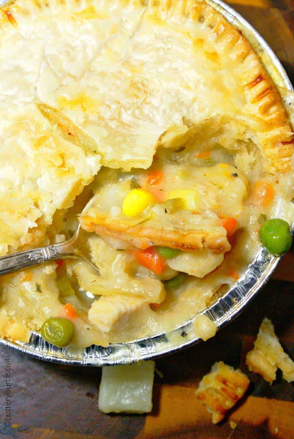 Chicken Pot Pies Recipe Freezable Butter Your Biscuit