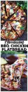 Hawaiian BBQ chicken flatbread