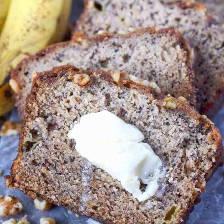 Starbucks Copycat Banana Nut Bread