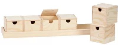 boites coffrets articles en bois