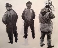 Cops in GCT