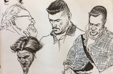 Transit sketches