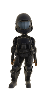 Chill Penguin as an ODST