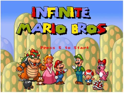 Inifinite Super Mario Bros