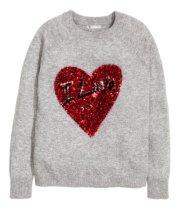 H&M: Sequined jumper