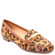 Hush Puppies: Leopard print loafers