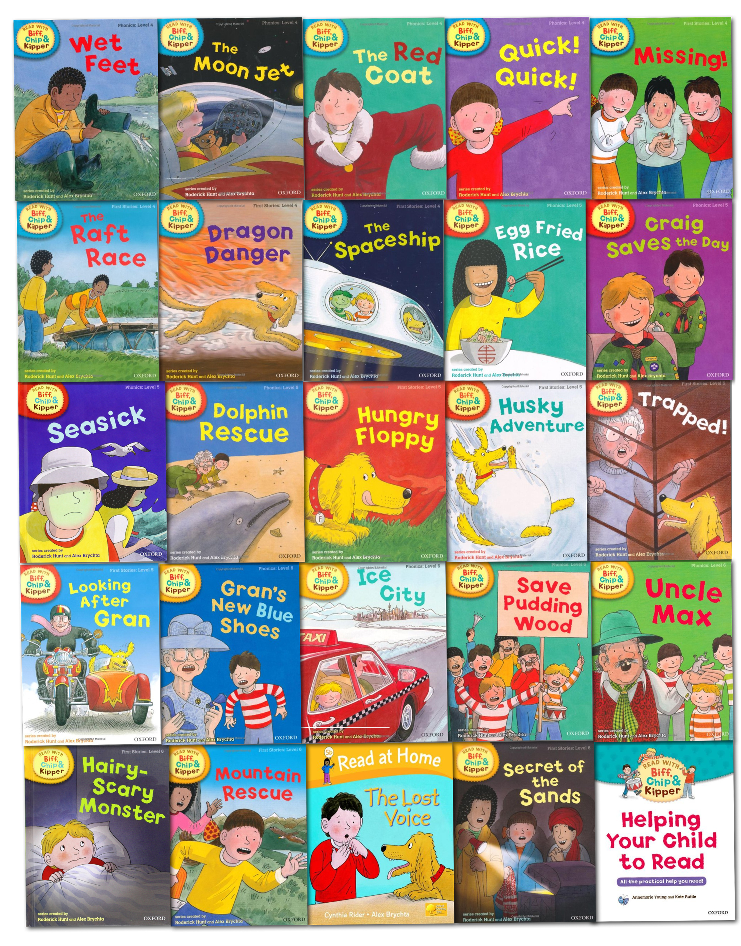 Oxford Reading Tree Read With Biff Chip Kipper Collection