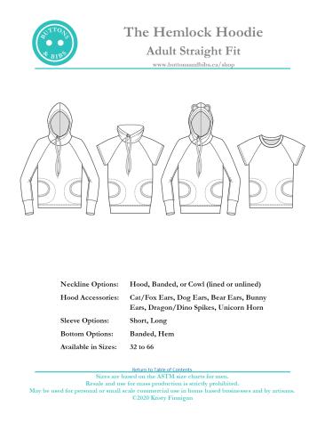 The Hemlock Hoodie - Straight Fit