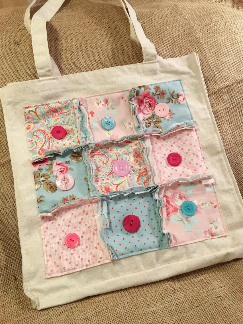 Handmade Holidays Beautiful Tote Bag