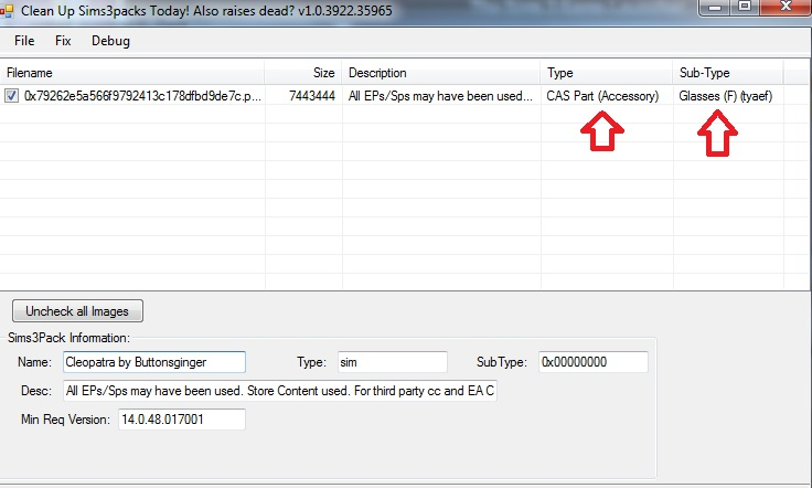 Add To Game Option vs Save File when downloading from the Sims 3 exchange (3/4)