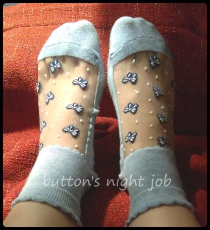 Blue socks 1