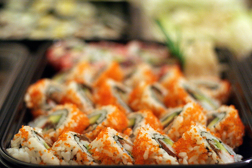 """Sushi"" (photo by Flickr user Tom Allender)"