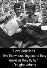 The sound of deadlines