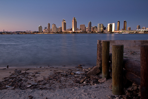 """San Diego Waterfront"" (photo by Flickr user Justin Brown)"