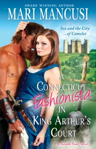 Cover_A Connecticut Fashionista in King Arthur's Court