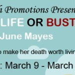 Afterlife or Bust: An excerpt + #giveaway from June Mayes