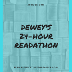Prepping for Dewey's 24-Hour Readathon