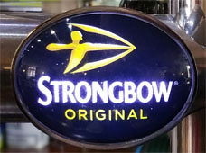 Strongbow Cider - ABV 4.5%
