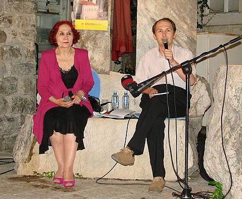 Vida Ognjenovic i Gojko Bozovic