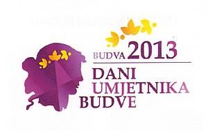Znak programa Dani umjetnika Budve