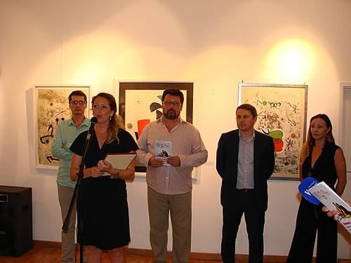 Otvaranje izlozbe spanskih slikara