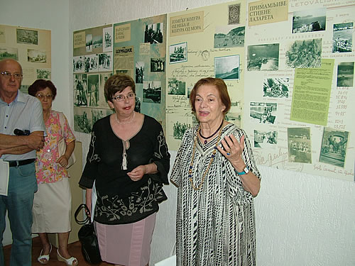 Prof. dr Anika Skovran otvara pratecu izlozbu