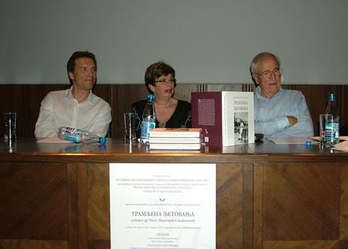 Učesnici promocije monografije ''Uramljena ljetovanja''