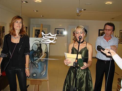 Otvaranje izlozbe Dijane Lazovic u galeriji hotela Queen u Becicima