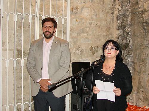 Otvaranje izlozbe slika - Lucija Djuraskovic i Ljubomir Filipovic