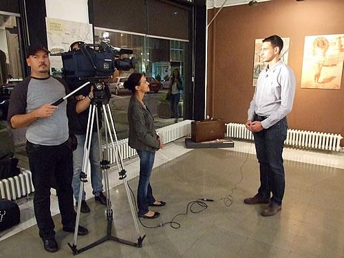 6 Dušan Medin, saradnik na izložbi i menadžer projekta Uramljena ljetovanja