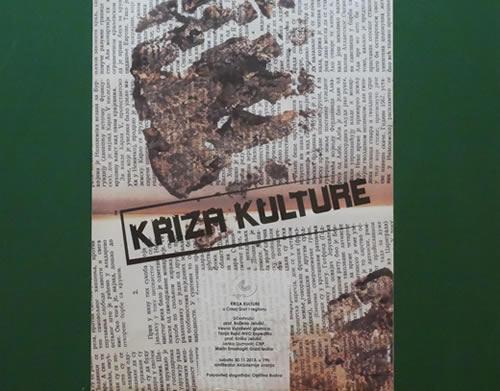 Kriza kulture - plakat