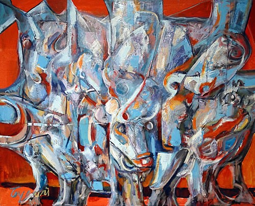 Izlozba slika Milana Bulatovica u hotelu Queen - 5