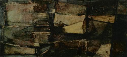 001 Mreze 1962 ulje lesonit 25x50