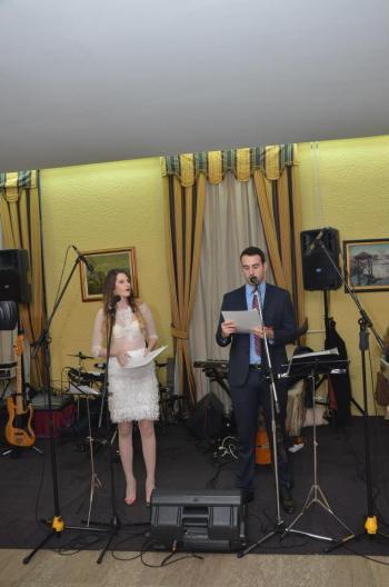 Mladi voditelji programa - Kristina Rađenović i Ozren Đurašević