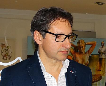 Ivica Arandjus - Izlozba u hotelu Queen of Montenegro u Becicima