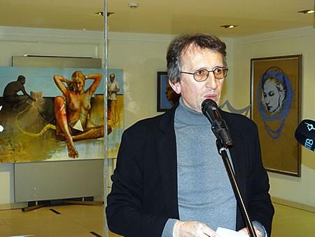 Ranko Pavicevic - Otvaranje izlozbe Ivice Arandjusa