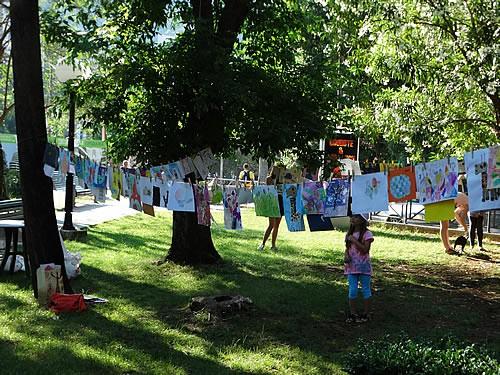 Gradski park - Izlozba djecijih radova - 3