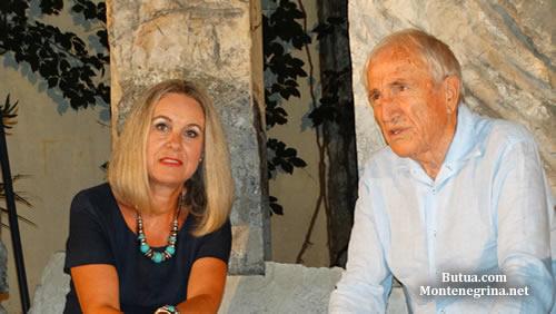 Bozena Jelusic i Miroslav Luketic