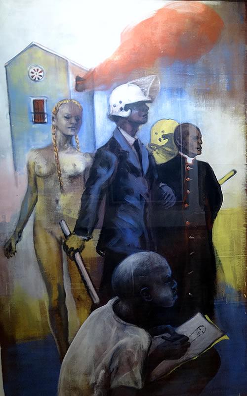 Moderna galerija Budva - Rad 11 Ivice Arandjusa
