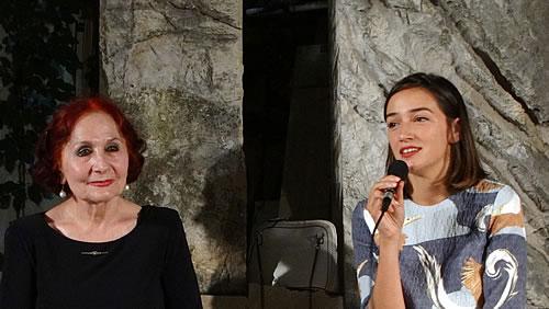 Vida Ognjenovic i Nina Smailagic