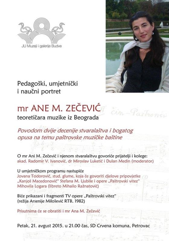Plakat Ana M. Zecevic